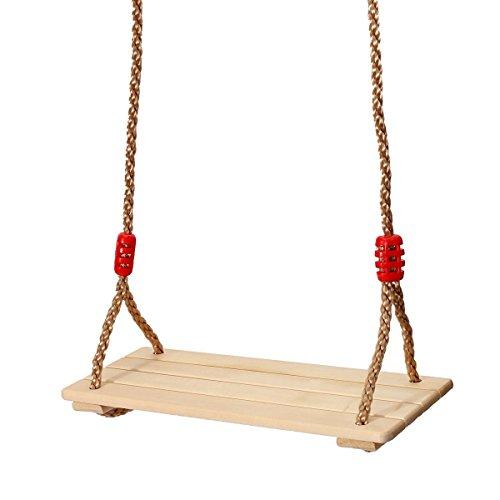 king do way erwachsene und kinder schaukelbrett mit seil brettschaukel. Black Bedroom Furniture Sets. Home Design Ideas